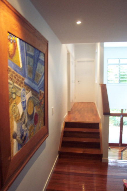 Stairs and painting